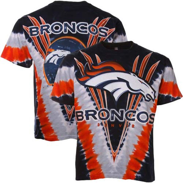 Denver Broncos Tie-Dye Premium Men's T-Shirt
