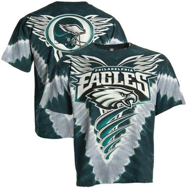 Philadelphia Eagles Tie-Dye Premium Men's T-Shirt