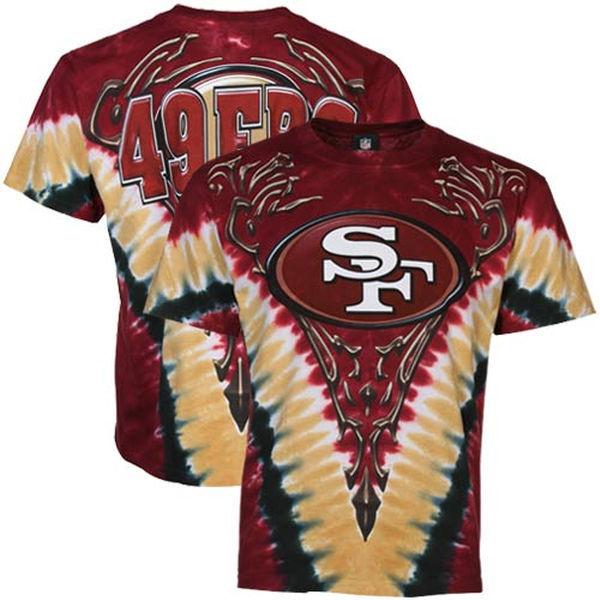 San Francisco 49ers Tie-Dye Premium Men's T-Shirt