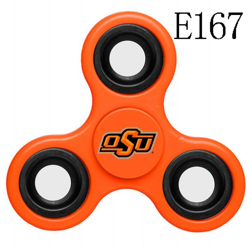 Oklahoma State Cowboys Team Logo Orange 3 Way Fidget Spinner