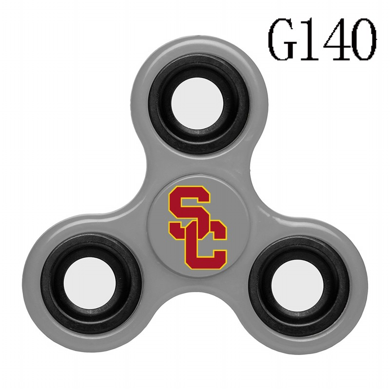 Southern California Trojans Team Logo Gray 3 Way Fidget Spinner
