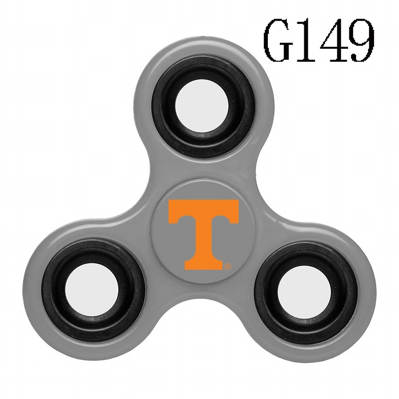 Tennessee Volunteers Team Logo Gray 3 Way Fidget Spinner