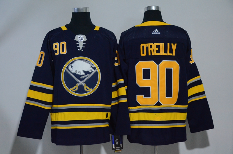 Sabres 90 Ryan O'Reilly Navy Adidas Jersey