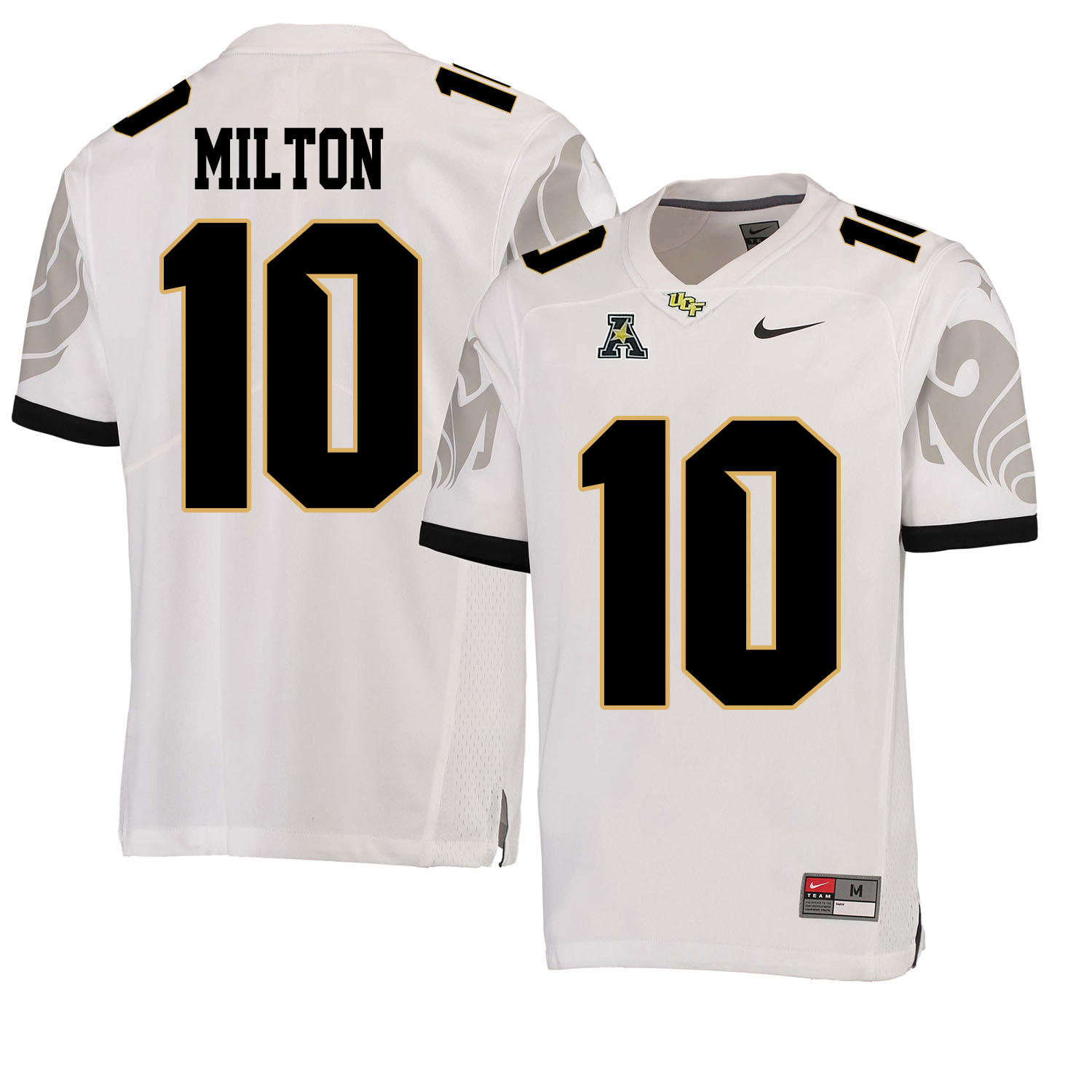 UCF Knights 10 Mckenzie Milton White College Football Jersey