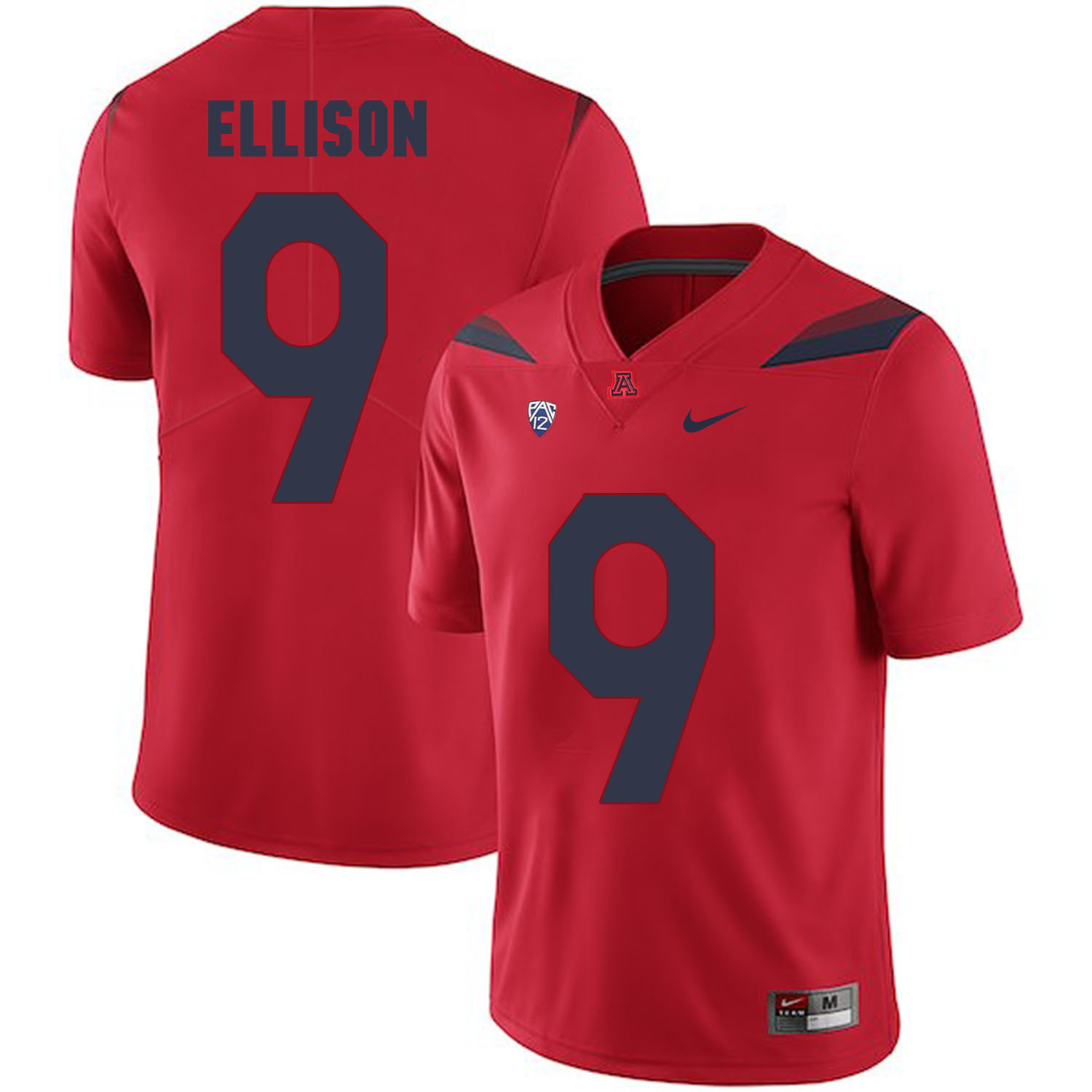 Arizona Wildcats 9 Tony Ellison Red College Football Jersey