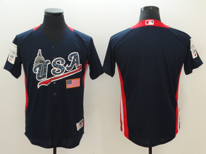 USA Navy 2018 MLB All-Star Futures Game On-Field Team Jersey