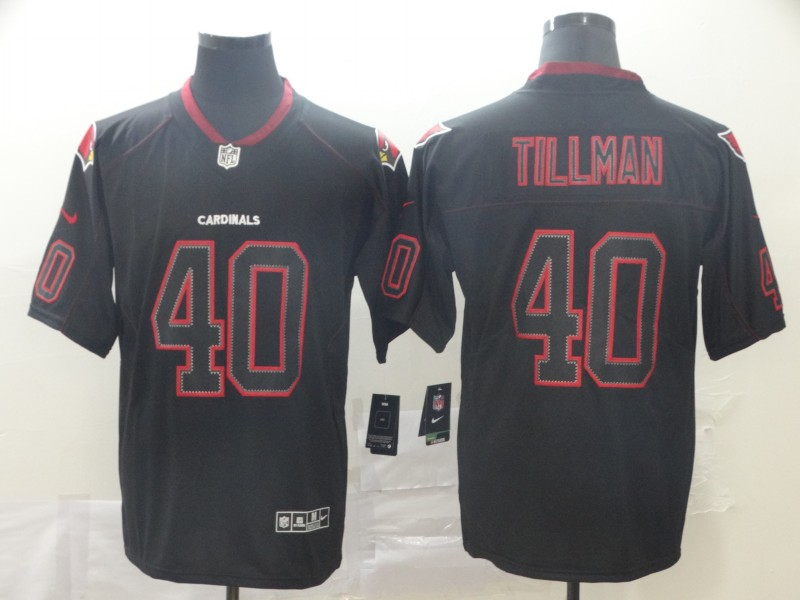 Nike Cardinals 40 Pat Tillman Black Shadow Legend Limited Jersey