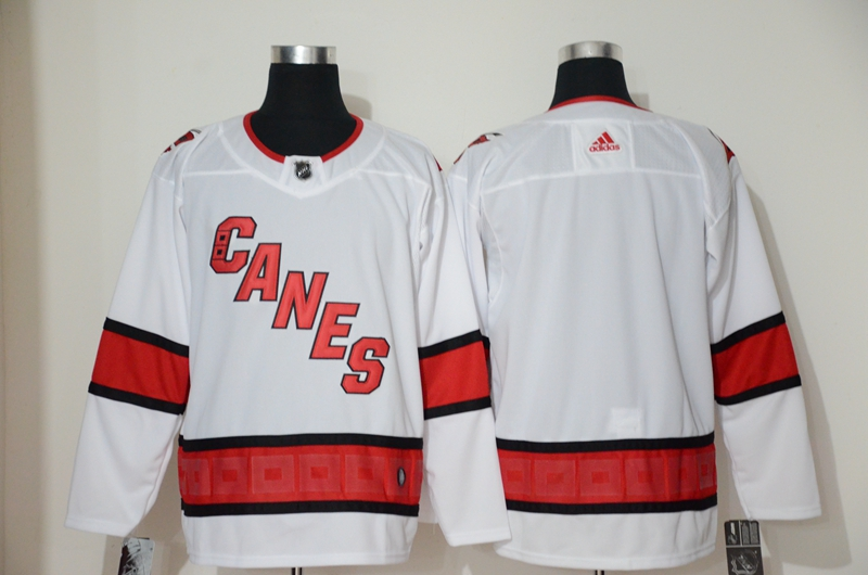 Hurricanes Brand White Adidas Jersey