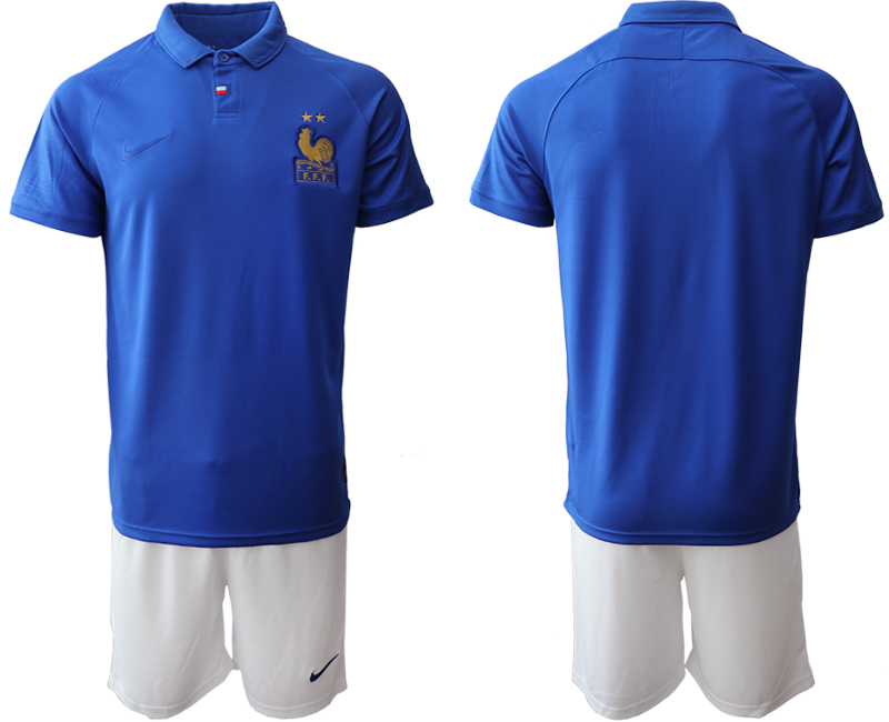 2019-20 France 100th Commemorative Edition Soccer Jersey