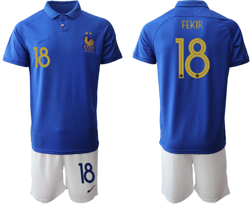 2019-20 France 18 FEKIR 100th Commemorative Edition Soccer Jersey