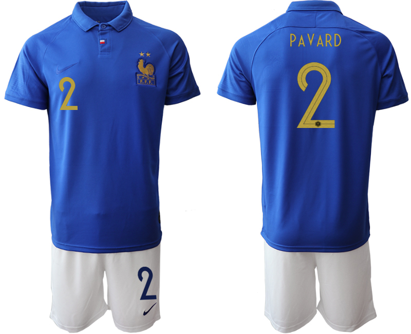2019-20 France 2 PAVARD 100th Commemorative Edition Soccer Jersey