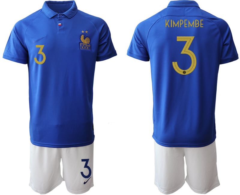 2019-20 France 3 KIMPEMBE 100th Commemorative Edition Soccer Jersey