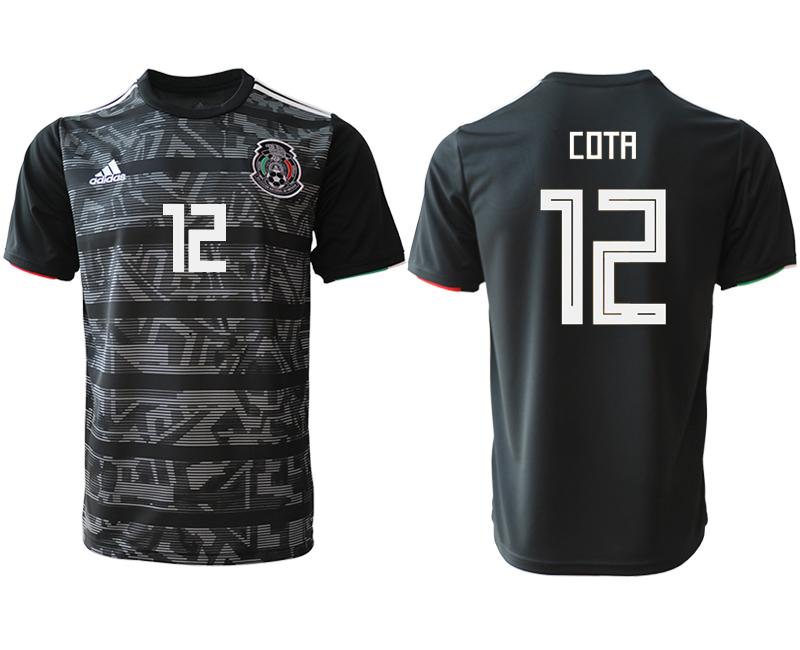 2019-20 Mexico 12 COTA Away Thailand Soccer Jersey