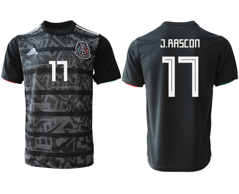 2019-20 Mexico 17 C.RASCON Away Thailand Soccer Jersey