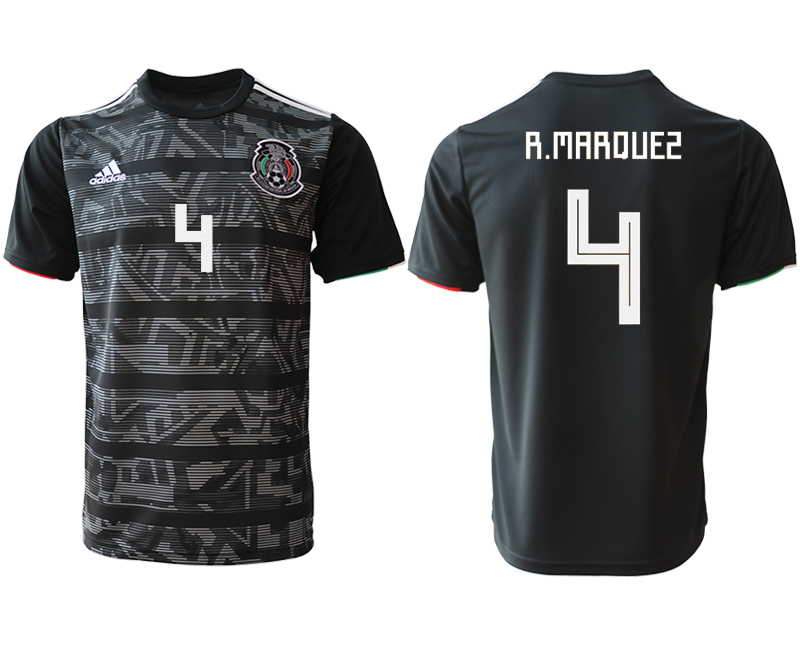 2019-20 Mexico 4 R.MAROUES Away Thailand Soccer Jersey