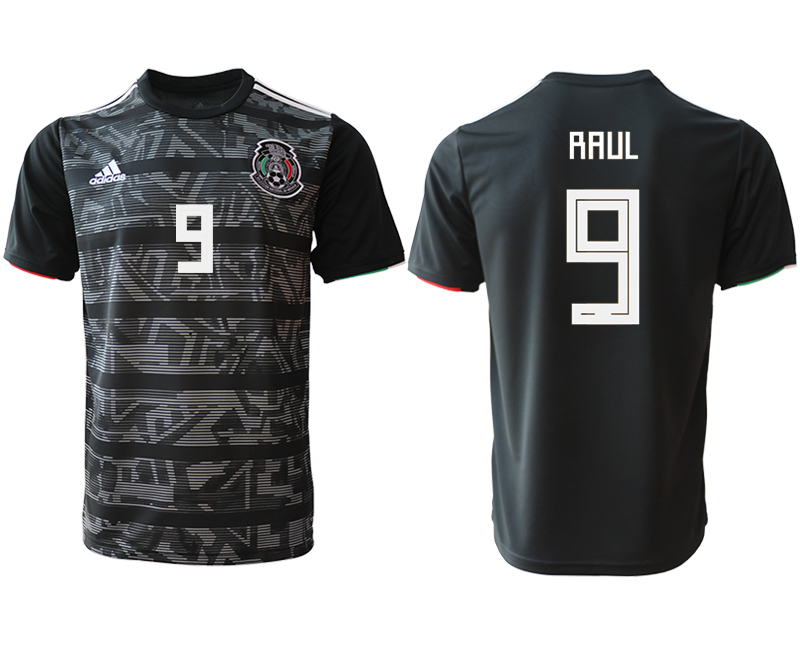 2019-20 Mexico 9 RAUL Away Thailand Soccer Jersey