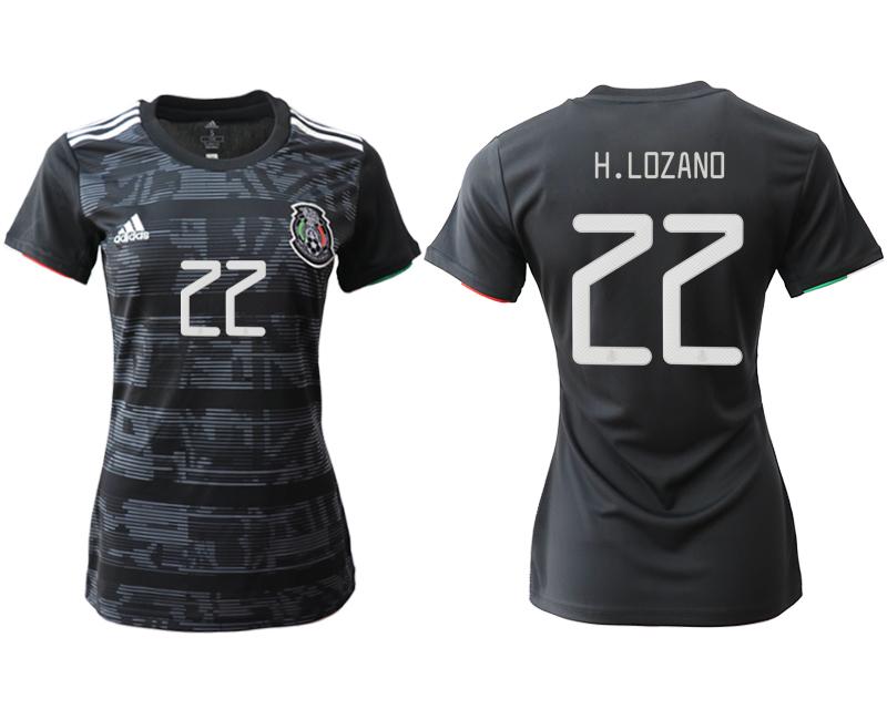 2019-20 Mexico 22 H.ZOZANO Home Women Soccer Jersey