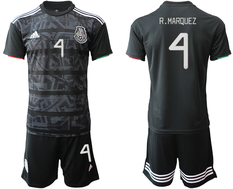 2019-20 Mexico 4 R.MARQUEZ Home Soccer Jersey