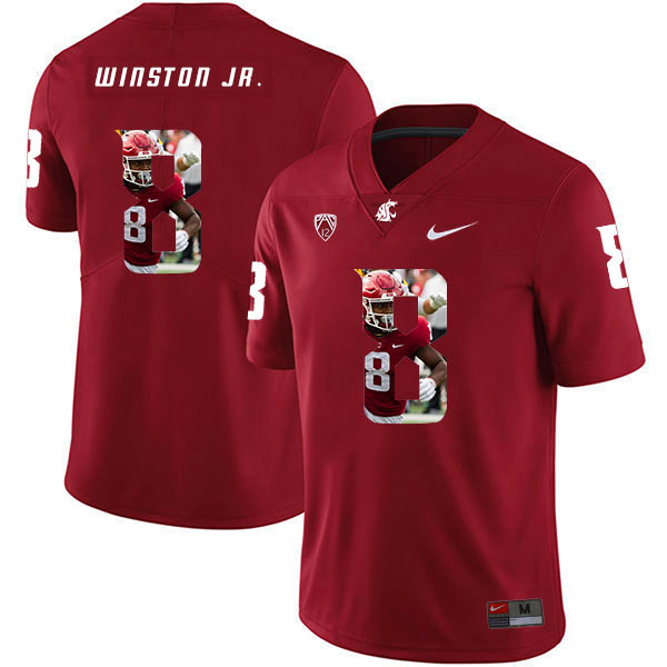Washington State Cougars 8 Easop Winston Jr. Red Fashion College Football Jersey.jpeg