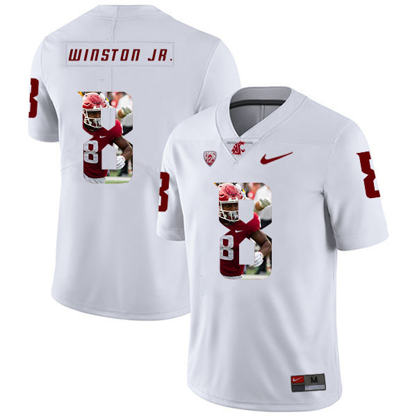 Washington State Cougars 8 Easop Winston Jr. White Fashion College Football Jersey.jpeg
