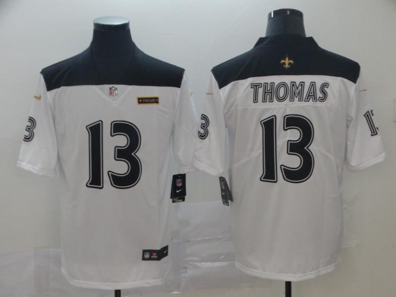 Nike Saints 13 Michael Thomas White City Edition Vapor Untouchable Limited Jersey