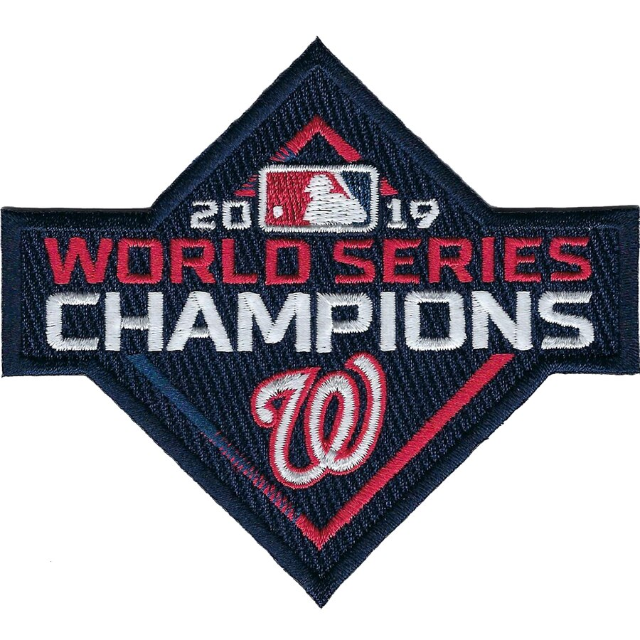 2019 MLB Baseball World Series Champions Patch