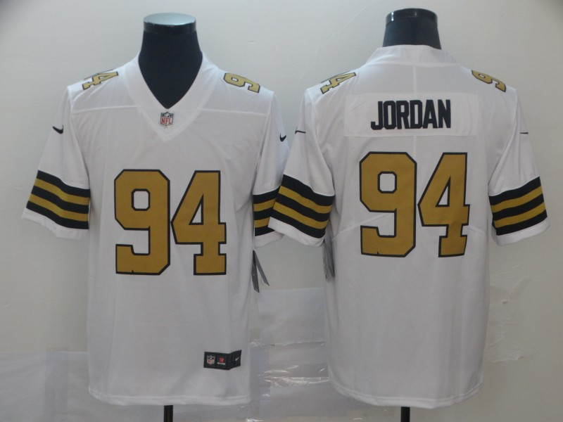 Nike Saints 94 Cameron Jordan White Color Rush Limited Jersey