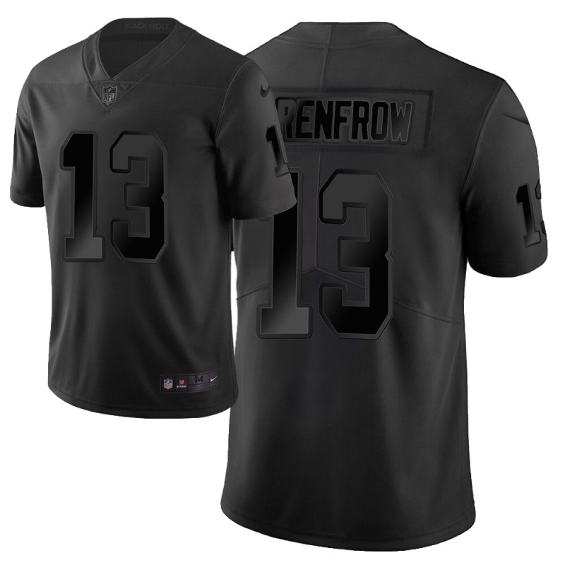 Nike Raiders 13 Hunter Renfrow Black City Edition Vapor Untouchable Limited Jersey