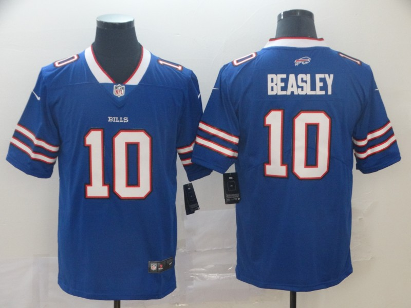 Nike Bills 10 Cole Beasley Royal Vapor Untouchable Limited Jersey