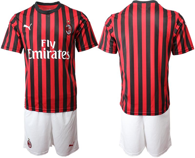 2019-20 AC Milan Home Soccer Jersey