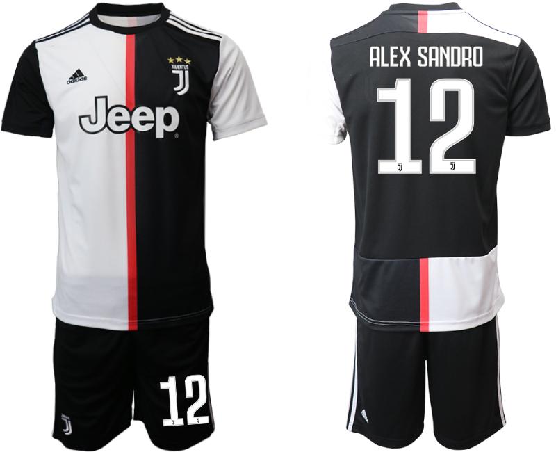 2019-20 Juventus FC 12 ALEX SANDRO Home Soccer Jersey