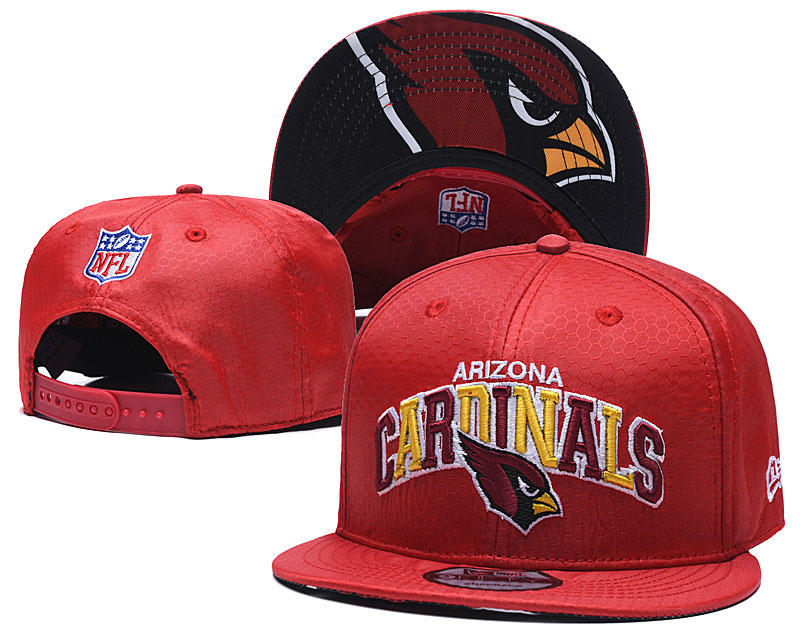 Arizona Cardinals Team Logo Red Adjustable Hat TX