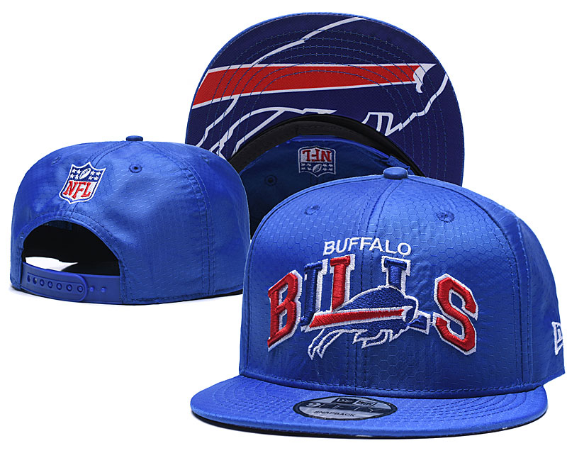 Bills Team Logo Royal Adjustable Hat TX