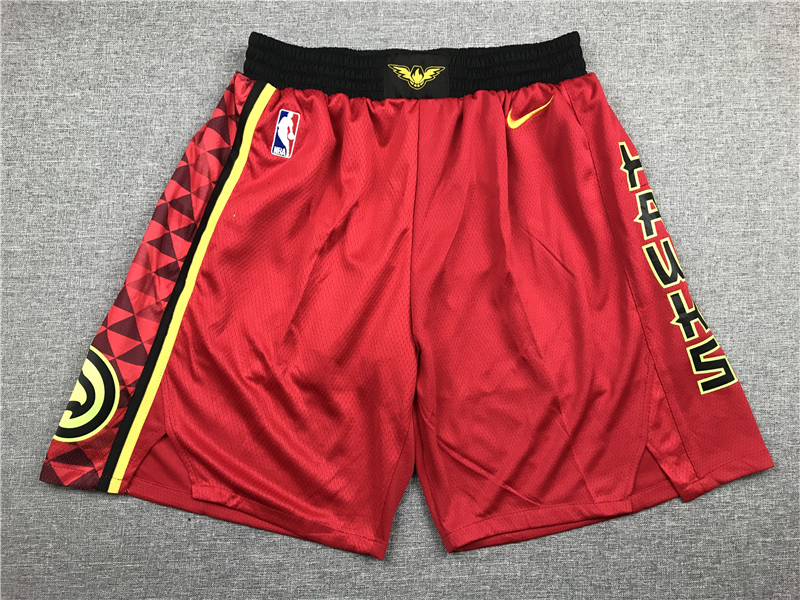 Hawks Red Nike Shorts
