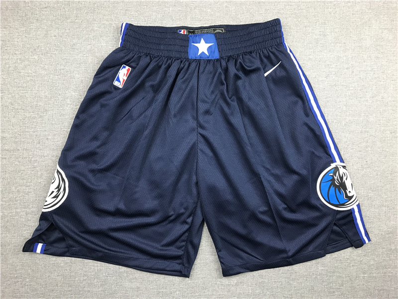 Mavericks Navy Nike Shorts