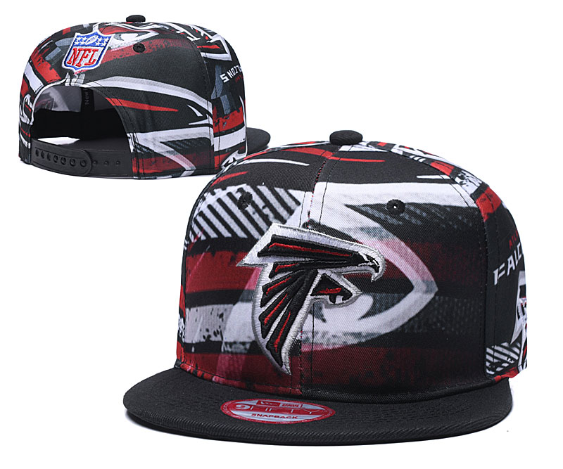 Falcons Team Logo Black Adjustable Hat TX