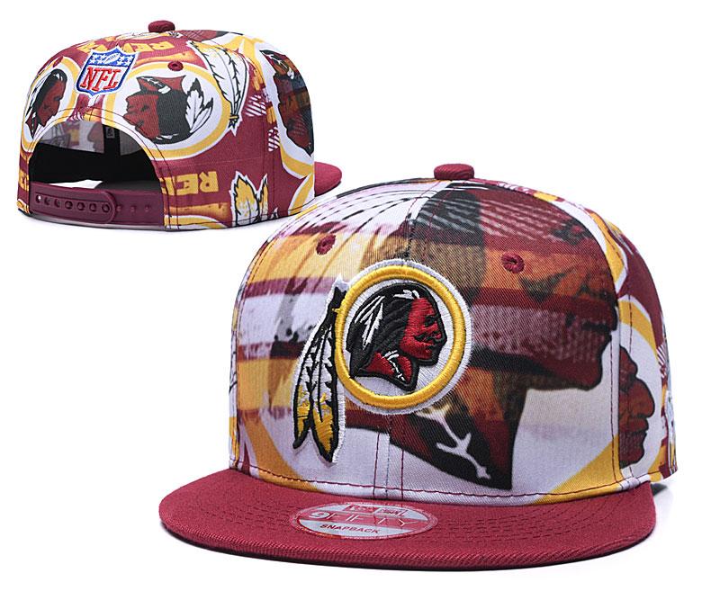 Redskins Team Logo Red Adjustable Hat TX