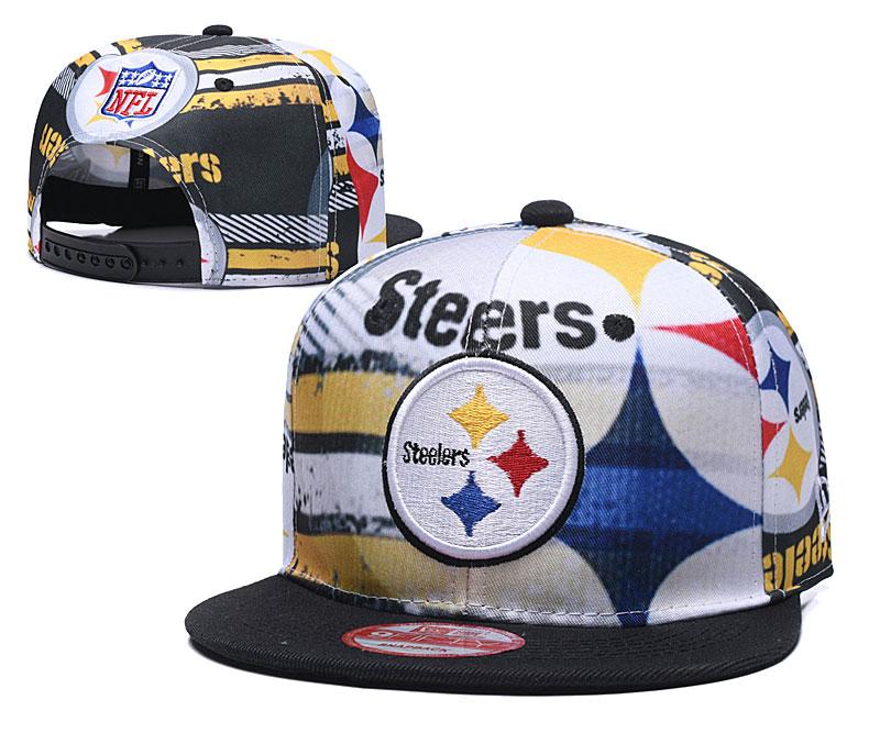 Steelers Team Logo Color Adjustable Hat TX