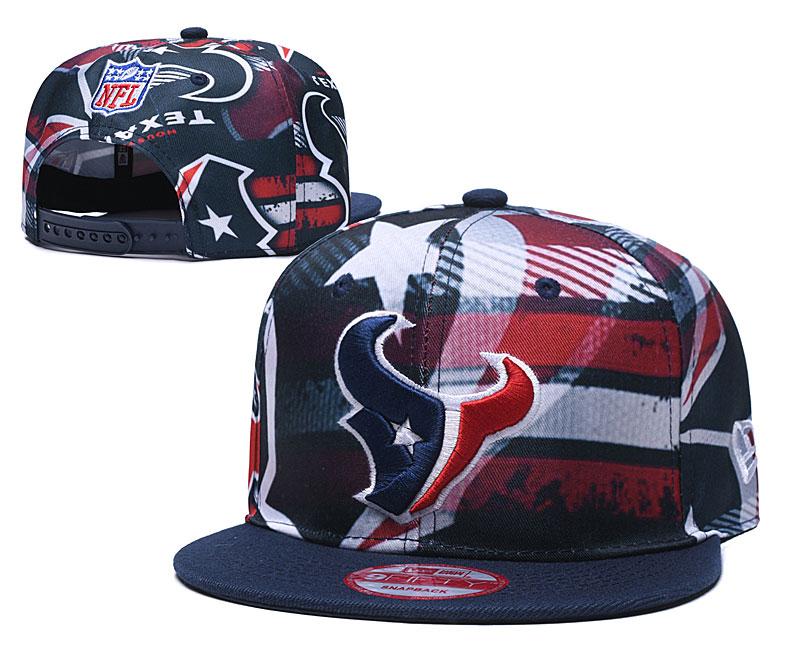 Texans Team Logo Navy Adjustable Hat TX