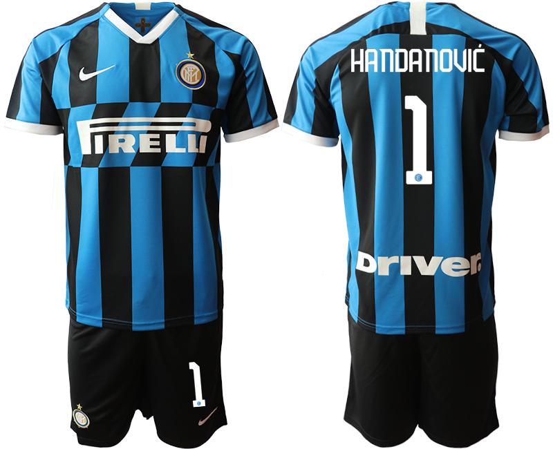 2019-20 Inter Milan 1 HANDANOVIC Home Soccer Jersey