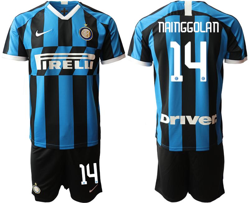 2019-20 Inter Milan 14 NAINGGOLAN Home Soccer Jersey