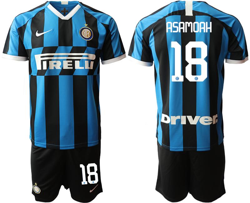2019-20 Inter Milan 18 ASAMOAH Home Soccer Jersey