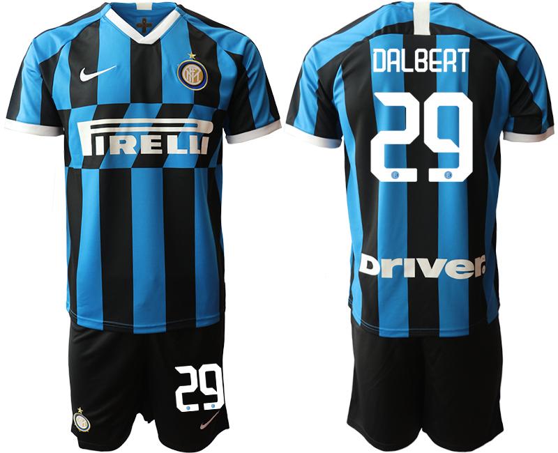 2019-20 Inter Milan 29 DALBERT Home Soccer Jersey