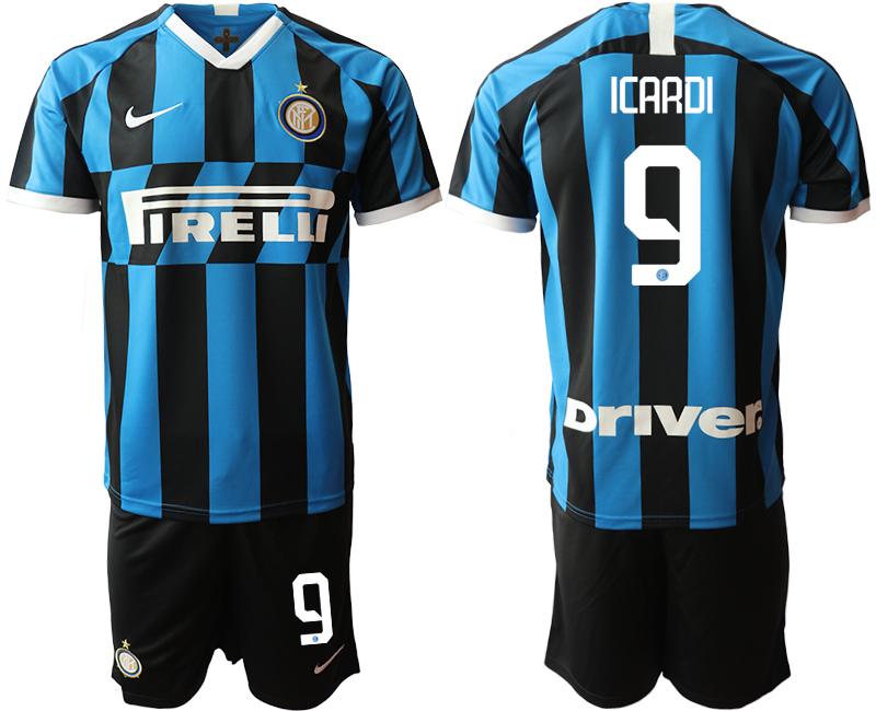 2019-20 Inter Milan 9 ICARDI Home Soccer Jersey