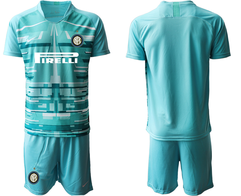 2019-20 Inter Milan Blue Goalkeeper Soccer Jersey