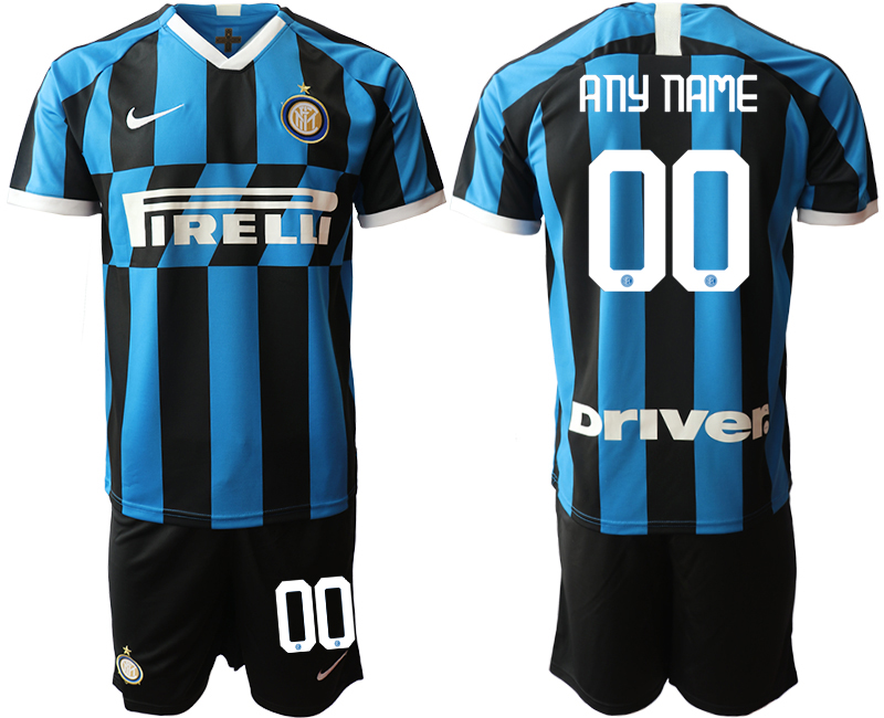 2019-20 Inter Milan Customized Home Soccer Jersey