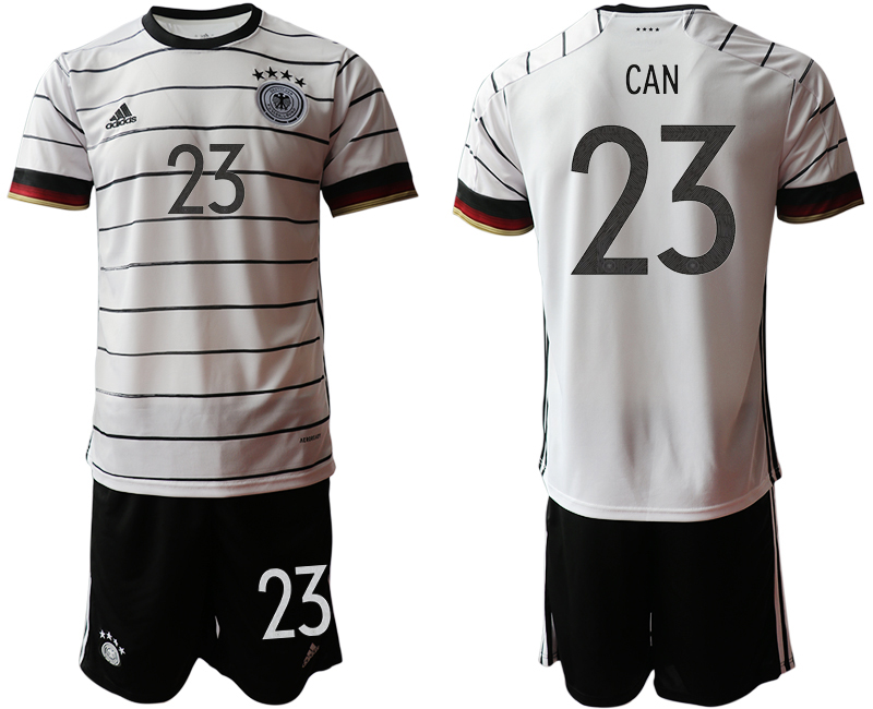 Germany 23 CAN Home UEFA Euro 2020 Soccer Jersey
