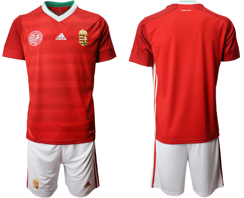 Hungary Home UEFA Euro 2020 Soccer Jersey