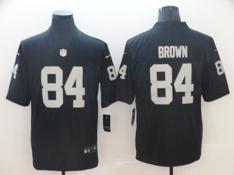 Raiders 84 Antonio Brown Black Vapor Untouchable Limited Jersey