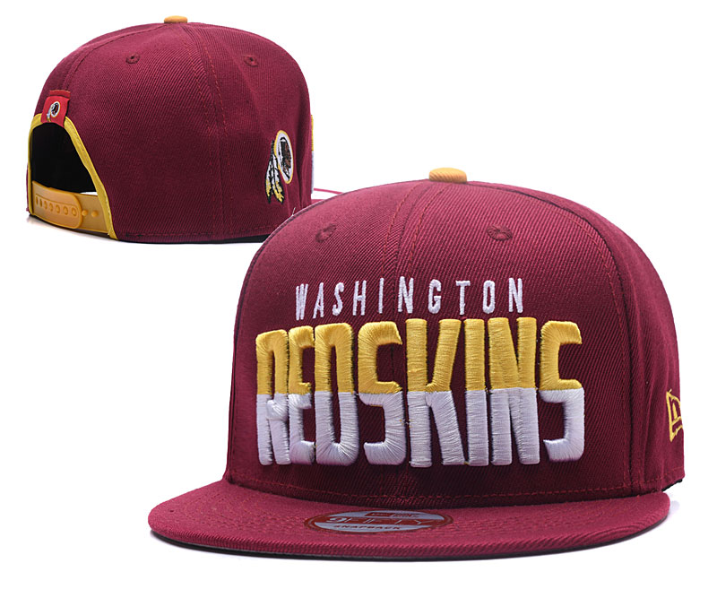 Redskins Fresh Logo Red Adjustable Hat LH